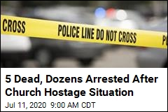5 Dead at Long-Troubled Church After Hostages Taken