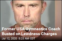 Former USA Gymnastics Coach Busted on Lewdness Charges