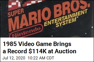 Video Game Brings $114K, Knocking Out Mike Tyson