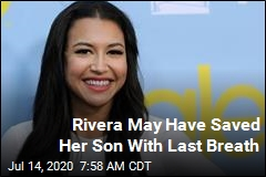 With Last Breath, Rivera Saved Her Son