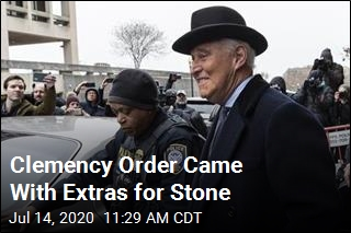 Clemency Order Came With Extras for Stone