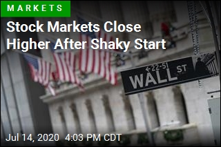 Stock Markets Close Higher After Shaky Start