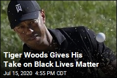 Tiger Woods Gives His Take on Black Lives Matter