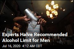Experts: Men Should Limit Alcohol to 1 Drink a Day