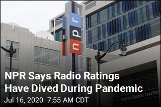 NPR Says Radio Ratings Have Dived During Pandemic