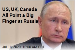 US, UK, Canada All Point a Big Finger at Russia