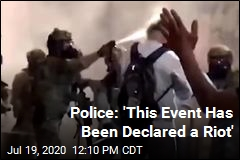 Police: 'This Event Has Been Declared a Riot'