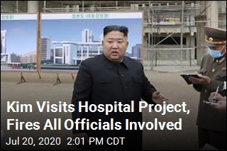 Construction of Hospital Kim Called for Not Going So Well