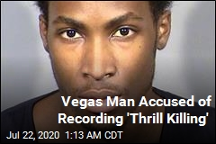 Las Vegas Man Arrested in 'Thrill Killing'