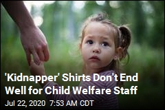 'Kidnapper' Shirts Don't End Well for Child Welfare Staff