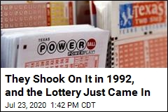 Friend Honors His 1992 Lottery Promise
