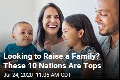 Looking to Raise a Family? These 10 Nations Are Tops