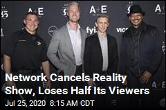 Network Cancels Reality Show, Loses Half Its Viewers