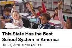 This State Has the Best School System in America