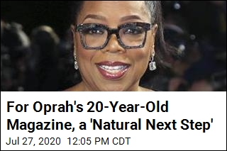 For Oprah's 20-Year-Old Magazine, a 'Natural Next Step'