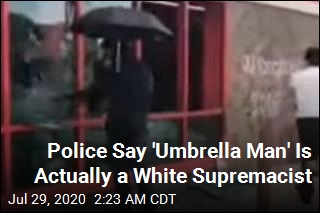 'Umbrella Man' a White Supremacist Trying to Incite a Riot: Police