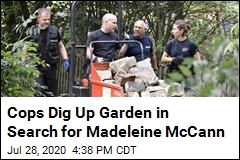 McCann Investigators Dig Up Garden in Germany