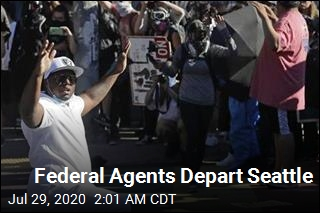 Federal Agents Depart Seattle