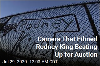 Camera That Captured Rodney King Beating Up for Auction