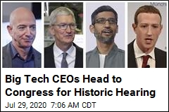 Big Tech CEOs Head to Congress for Historic Hearing