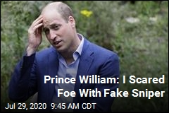Prince William: I Scared Foe With Fake Sniper