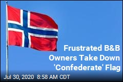 Frustrated B&B Owners Take Down 'Confederate' Flag