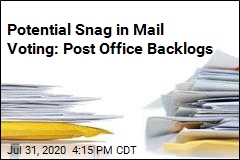 Mail Backlog Could Hold Up Ballots, Employees Worry