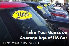 Average Age of a US Car? 12 Years