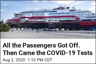 All the Passengers Got Off. Then Came the COVID-19 Tests