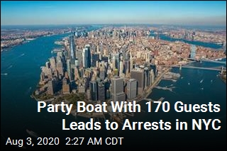 3 Arrested After Party Boat Cruises NYC With 170 Guests