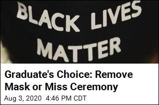 Graduate's Choice: Remove Mask or Miss Ceremony
