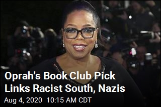 Oprah's Book Club Pick Links Racist South, Nazis