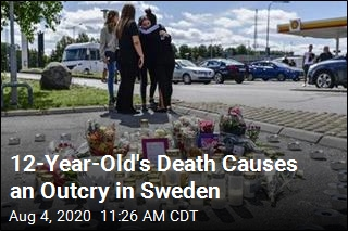 12-Year-Old's Death Causes an Outcry in Sweden