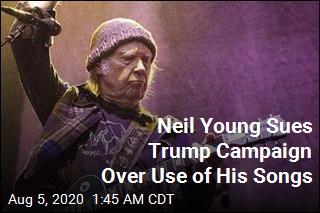 Neil Young Sues Trump Campaign Over Use of His Songs