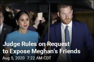 Judge Rules on Request to Expose Meghan's Friends