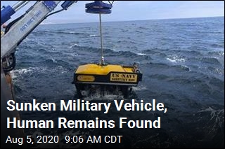 Navy Finds Sunken Vehicle After Training Tragedy