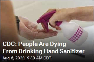 CDC: Please Don't Drink Hand Sanitizer