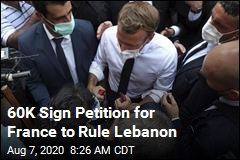 60K Sign Petition for France to Rule Lebanon