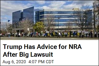 Trump Has Advice for NRA After Big Lawsuit