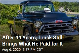 For One Owner, '57 Chevy Holds Its Value