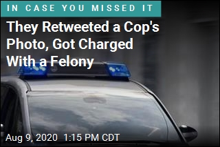 4 Who Retweeted Cop's Photo Charged With Felony