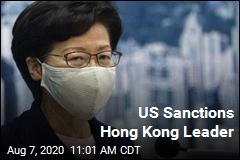 US Sanctions Hong Kong Leader