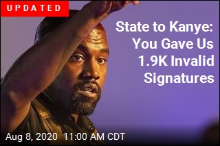 State to Kanye: You Gave Us 1.9K Invalid Signatures
