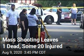Mass Shooting Leaves 1 Dead, Some 20 Injured