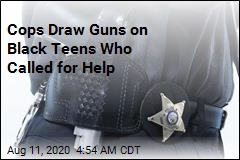Black Teens Call for Help, Cops Point Guns at Them