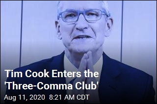Tim Cook Enters the 'Three-Comma Club'