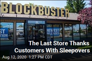 Last Store Offers Movie Sleepovers