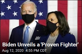 Biden Tells America: 'She's a Proven Fighter'
