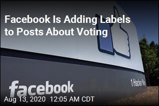 Facebook Is Adding Labels to Posts About Voting