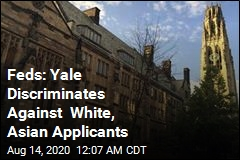 Feds: Yale Discriminates Against White and Asian Applicants